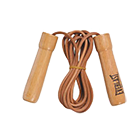 Leather Jump Rope With Wood Handle 4475
